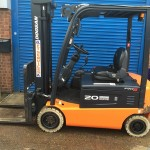 Used orange forklift Daewoo Doosan 20 for sale - FT Services