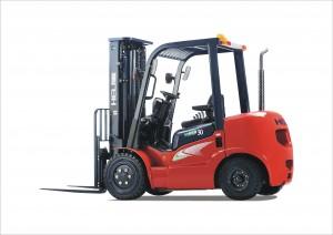 New Heli 30 forklift for sale - left-hand side - FT Services
