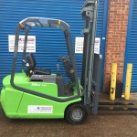 Used green forklift Blitz 315 for sale - FT Services